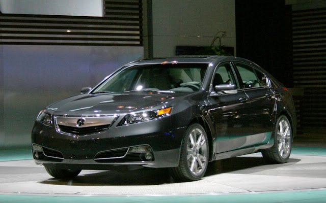 2012 Acura Tl Front Three Quarter Right