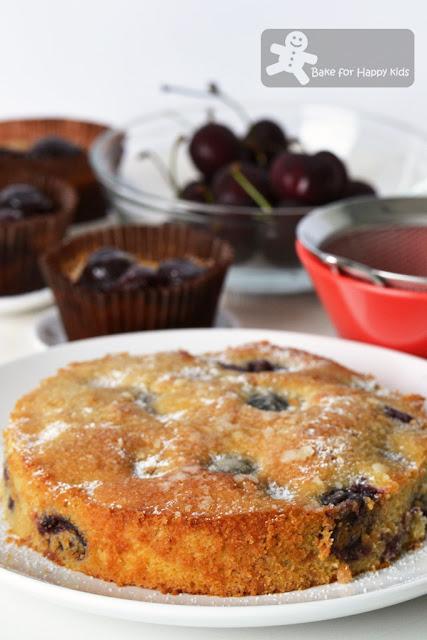 cherry vanilla tea cake vanilla sugar