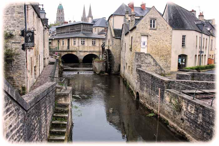 Der ReiseOiger unterwegs Der Teppich von Bayeux Game of
