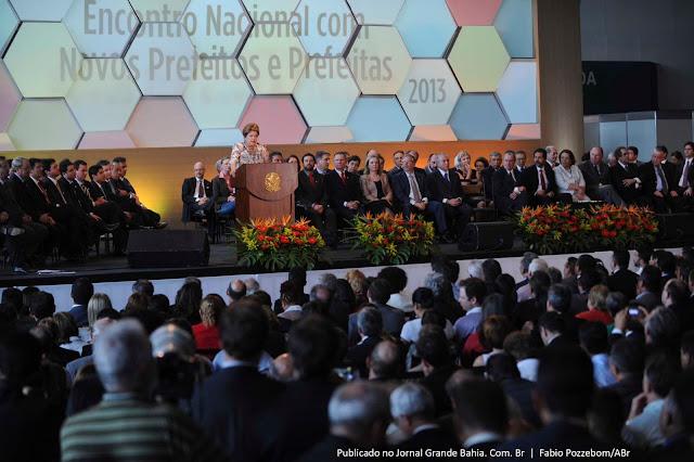 PREFEITO DE GENTIO DO OURO PARTICIPOU DO ENCONTRO NACIONAL DE PREFEITOS EM BRASÍLIA: