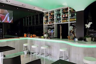 Barra de un Restaurant