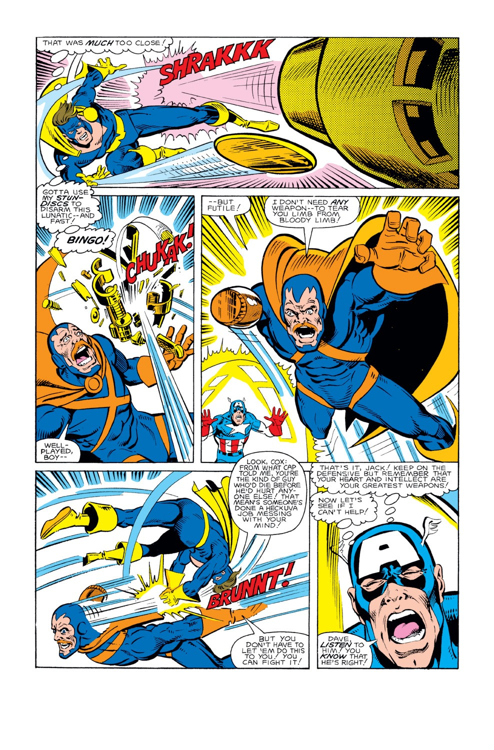 Captain America (1968) Issue #294 #222 - English 6