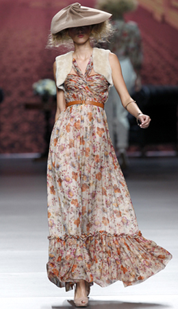 Cibeles Madrid Fashion Week otoño invierno 2011 2012 Alma Aguilar