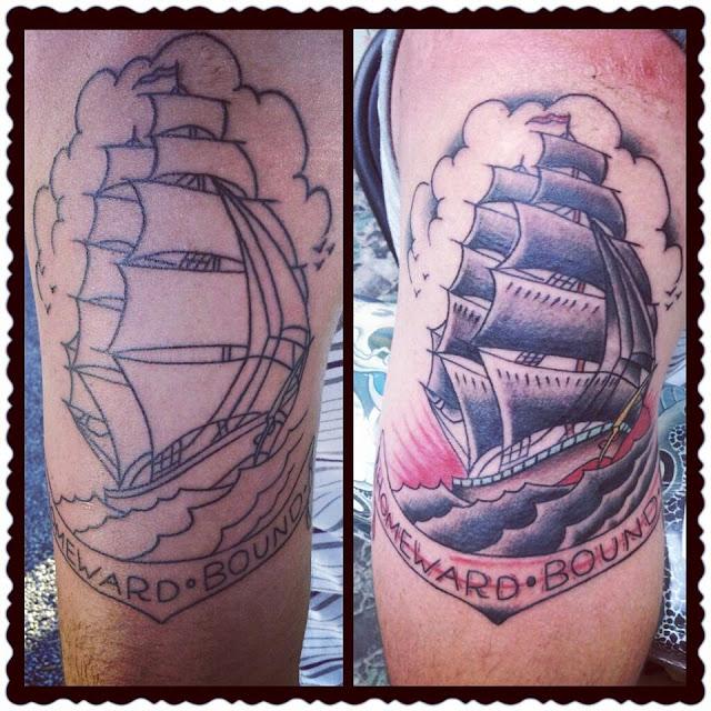 Blu gorilla charleston tattoos july 2013 for Tattoo charleston sc