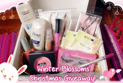Winter Blossoms Christmas 2013 Giveaway