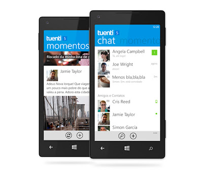 Tuenti Social Messenger for Windows Phone