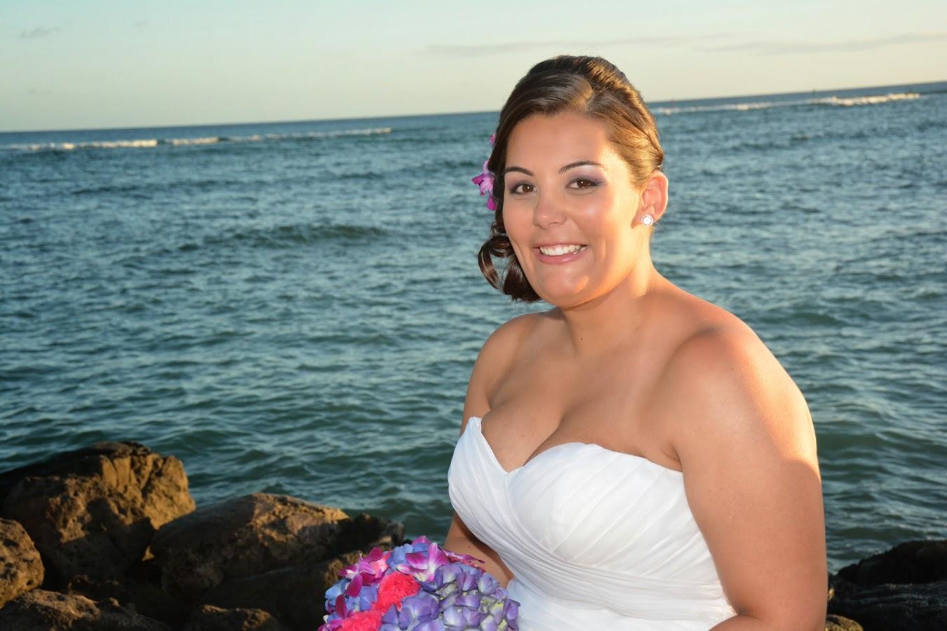 Waikiki Beach Bride