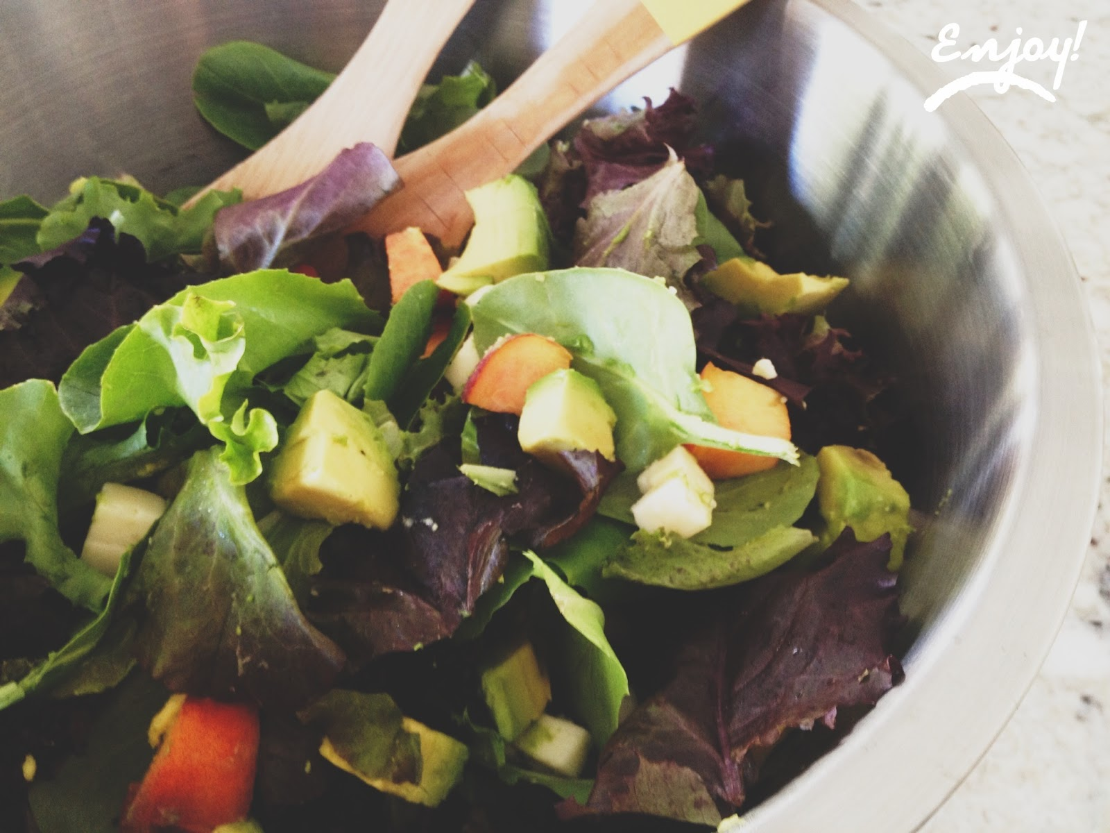 LIFE IS SWEET: My Favorite Summer/Fall Salad