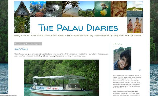 The Palau Diaries