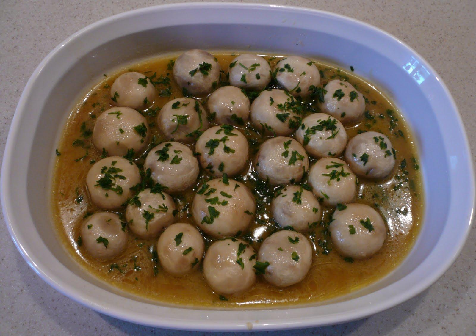 Deb's Spicy Summer Evening Mushrooms Recipe — Dishmaps