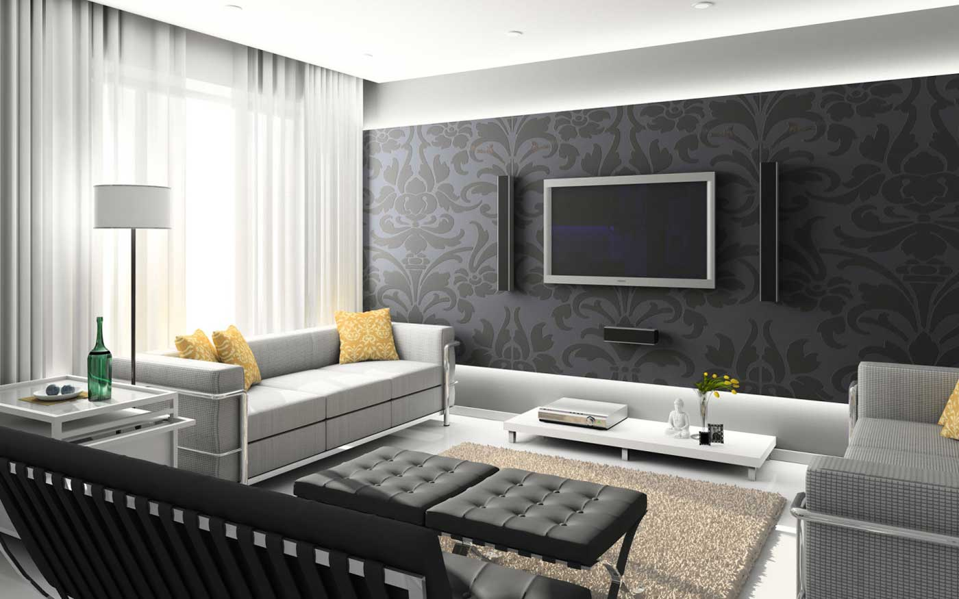 Make Your Living Room Theater Design Ideas