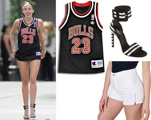 Bulls 23 Jersey Miley