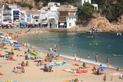 Tamariu beach in La Costa Brava