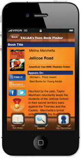 YALSA's Teen Book Finder app