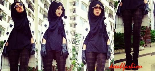 Trend Jilbab Boyish Style 2014