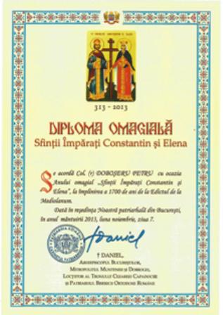DIPLOMA OMAGIALA