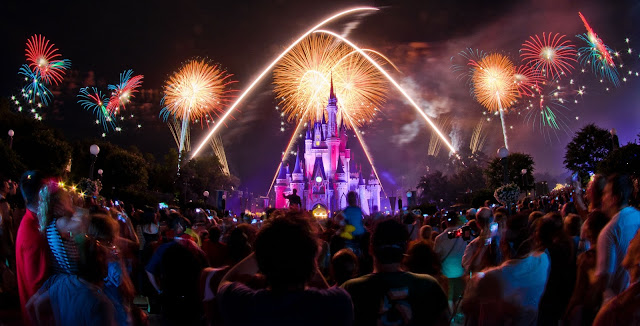 Queima de fogos Disney Magic Kingdom