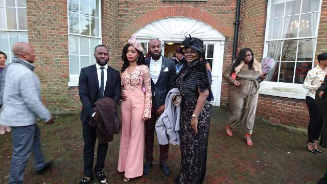 Ekiti State First Lady Feyisetan Fay­ose Shines At Relative's Wedding In London (Photos)