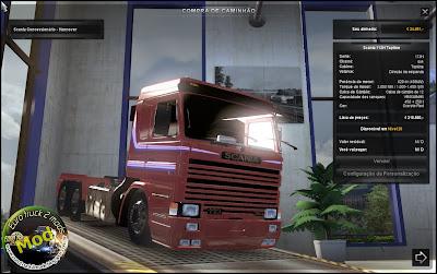 Euro truck 2 mods scania by joao vitor beta v 1