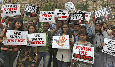 violacion en la india