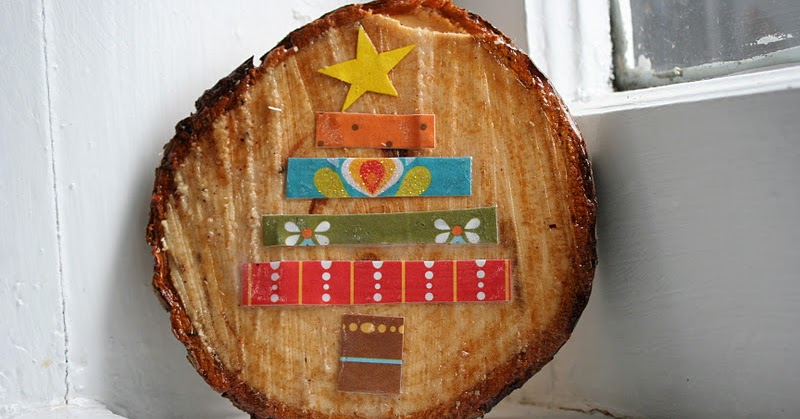 Little Page Turners Oh Christmas Tree Trimmed Trunk Plaque