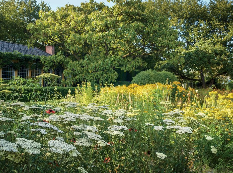 Portobello Design: The New Prairie Garden at Axel Vervoordt\'s Castle ...
