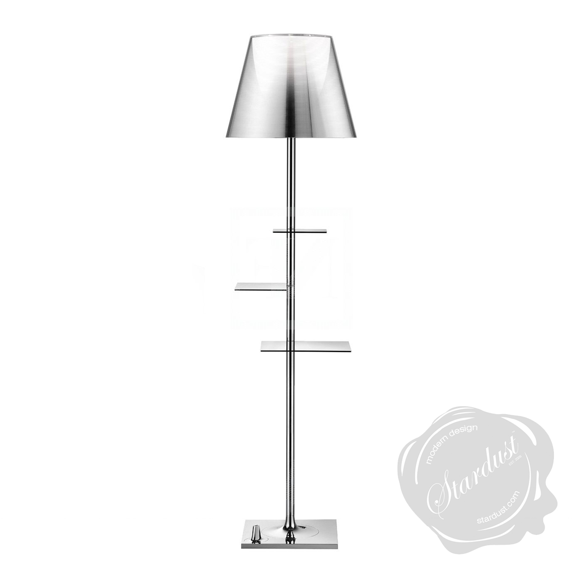 bibliotheque nationale floor lamp by flos lighting. Black Bedroom Furniture Sets. Home Design Ideas