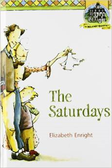 http://www.amazon.com/Saturdays-Melendy-Quartet-Elizabeth-Enright/dp/0312375980/ref=sr_1_1?s=books&ie=UTF8&qid=1404313800&sr=1-1&keywords=the+saturdays