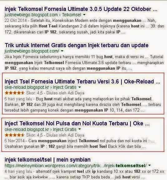 Download Inject Telkomsel Fornesia v.3.6