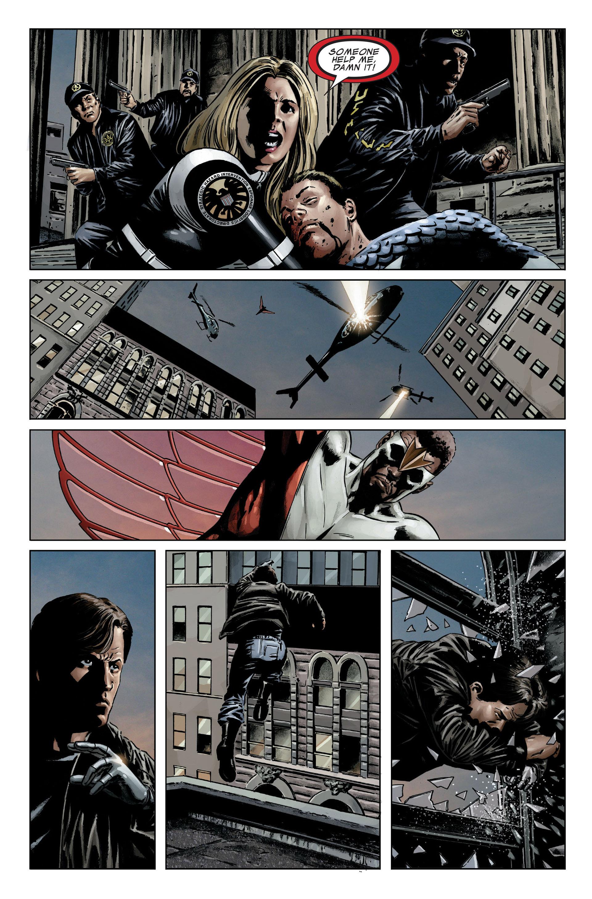 Captain America (2005) Issue #25 #25 - English 19