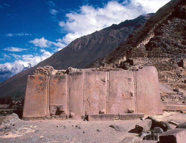 Evidence of Advanced Ancient Technology: Ollantaytambo