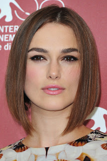 Short hairstyle Inspiration From Celebrity Keira Knightley
