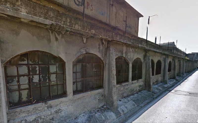 Die Ex-Zementfabrik ItalCemento in Imperia