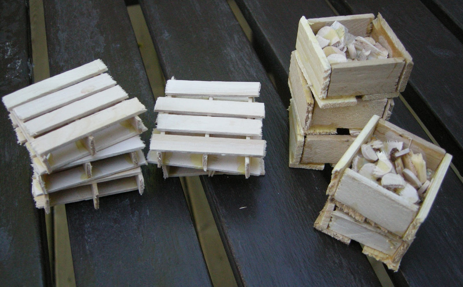 Any How Town Building Popsicle Stick Crates And Skids