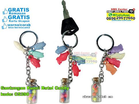Gantungan Kunci Botol Candy