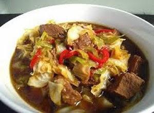 Resep Praktis dan mudah membuat masakan tongseng daging kambing
