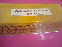 Kek Lapis Sarawak (Sisik Ikan)
