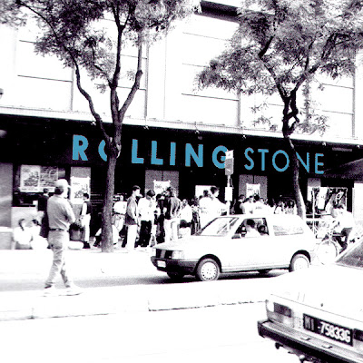 entrada rolling stone barcelona 2007:
