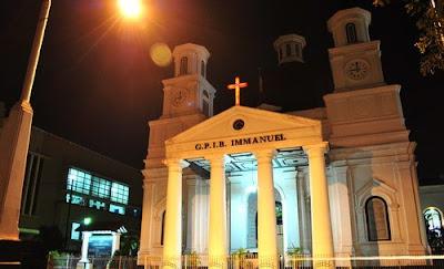 Wisata Gereja Blenduk Semarang