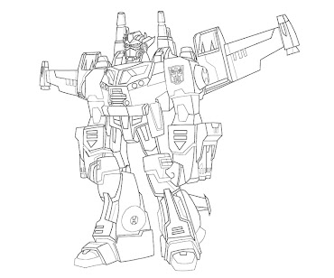 #11 Transformers Coloring Page