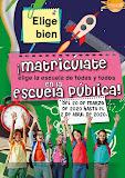 Matricúlate en la pública