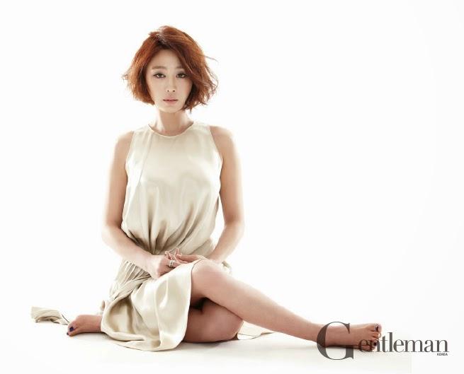 Kang Ye Won - Gentleman Magazine February Issue 2014