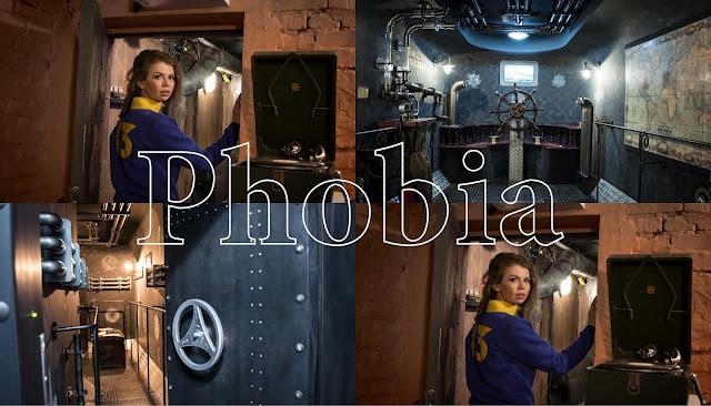 фото квесты Клаустрофобия Подводная лодка и Убежище блогер