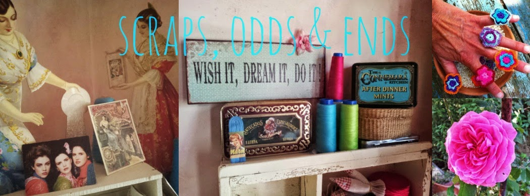 Scraps, odds and ends