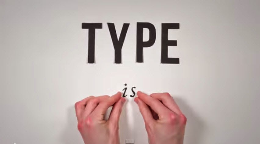 The History of Typography H