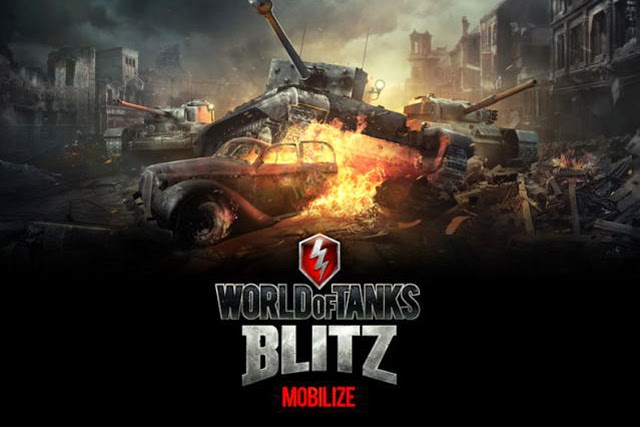 Free download Game World of tanks Blits for iOS