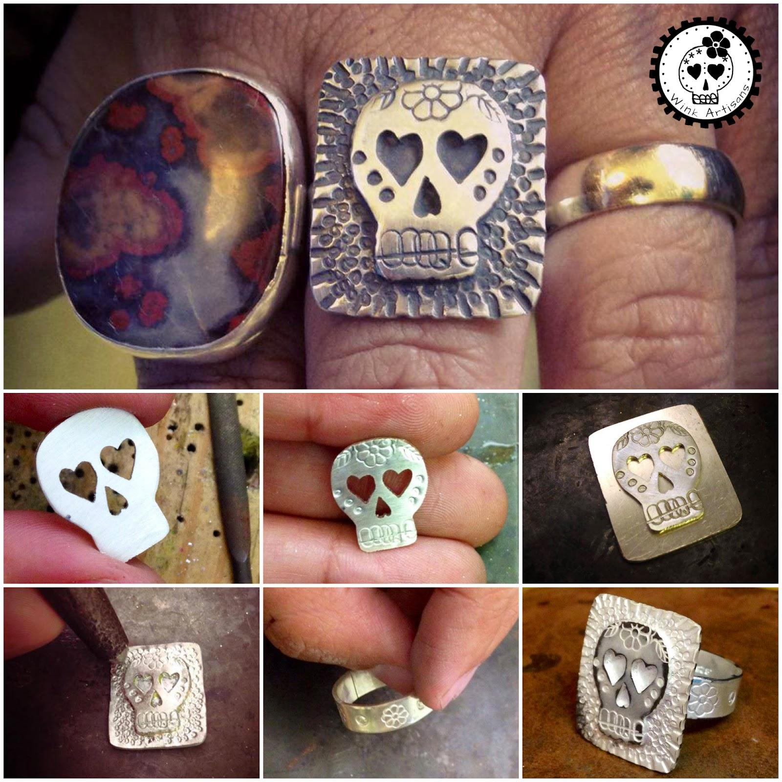 Dia De Los Muertos Artisan Jewelry