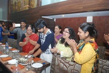 Shashank ketkar and tejashree pradhan reception
