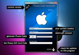 itunes gift card generator 2013