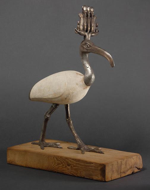 Statue de Thot sous forme d'ibis, © Kunsthistorisches Museum, Vienna